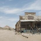 In Rhyolite, Nevada - a Ghost Town by Kent Burton