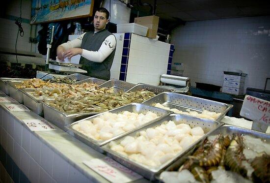Portuguese fish market 9 a m newark nj by yuri lev for Fish market newark nj