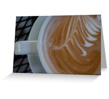 Cup Of Art Greeting Card