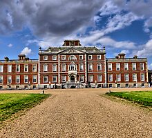 Wimpole House, the Front Entrance by Karen  Betts