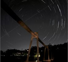 Star Trail Roseville by Bill Atherton