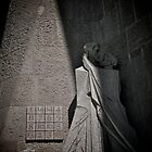 Kiss of the Betrayer, La Sagrada Familia by Gaudi, Barcelona by Gayan Benedict