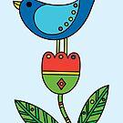 Birdy - card by Andi Bird