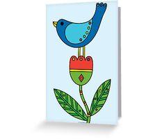Birdy - card Greeting Card