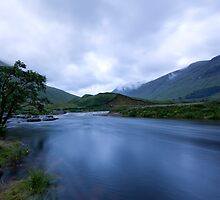 Glen Etive Dusk by Empato Photography