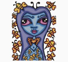 bee girl by kandy skullz