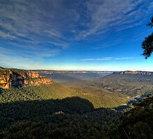 Jamison Valley The Blue Mountains by DavidIori