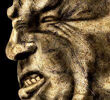 Angry man by nishagandhi