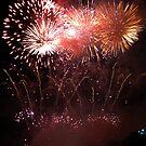 Fireworks at the Mercé festival in Barcelona by viaterra-photos