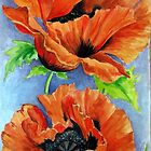 poppies by shagufta