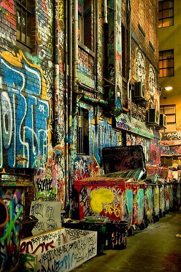 Late Night Art. by Steve Chapple