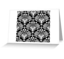 Decorative seamless floral ornament Greeting Card