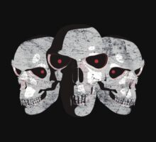 3 Demon Skulls by Packrat