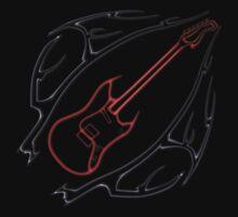 Tribal Guitar Design by Packrat