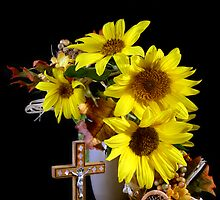 Sunflowers of Faith by Sheryl Kasper