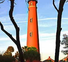 Ponce de Leon Light by Rick  Bender