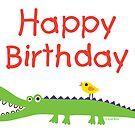 Chompie Birthday ll - card  by Andi Bird