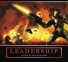video game leadership p by Jonathan Belle