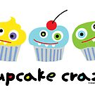 Cupcake Crazy ll - card  by Andi Bird