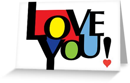 Love You  ll - card by Andi Bird