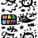 Waz Up? ll  card  by Andi Bird