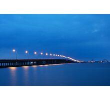 Bay Bridge to Ocean City Maryland Photographic Print