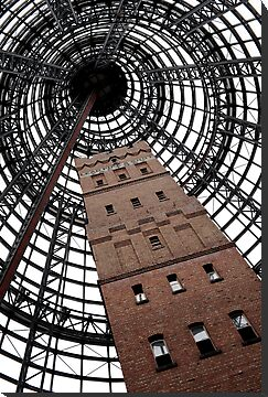 Melbourne's Icons - the Shot Tower by Mark Elshout