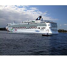 Norwegian Pearl-Victoria Photographic Print