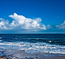 Cloudscape by the Sea #2 by AllshotsImaging