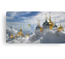 Heavenly Domes Canvas Print