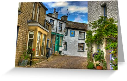 Dent Village Street by Trevor Kersley