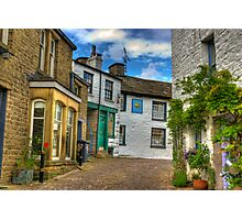 Dent Village Street Photographic Print