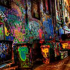 Laneway Moods 2. by Steve Chapple