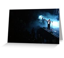 Chris brown in Auckland Greeting Card
