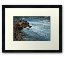 On The Edge Of No Return Framed Print