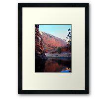 West Macdonald Gorge Framed Print