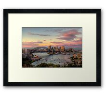 Morning - Moods of A City - The HDR Experience Framed Print