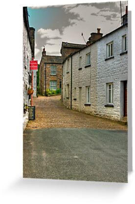 Village Street #2  - Dent by Trevor Kersley