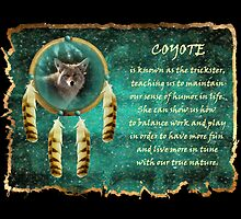 Coyote Wisdom (for 2010 Calender) by Jan Landers