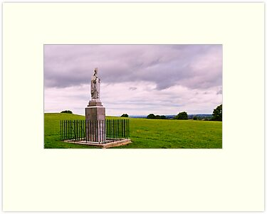 Statue of St Patrick at the Hill of Tara. Co, Meath. by Finbarr Reilly