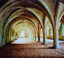 Fountains Abbey - Cellarium by Rowan  Lewgalon