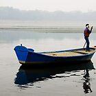 Morning Mist at Yumana River by RajeevKashyap