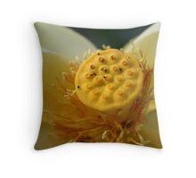 American lotus3 Throw Pillow