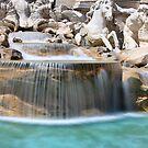 Trevi Fountain by Christophe Testi