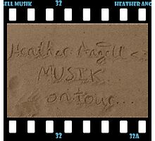 Heather Angell Musik - On Tour Photographic Print