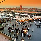 Main Plaza in Marrakesh by TheSpaniard
