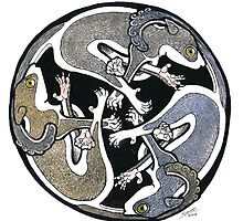 Celtic brush tailed Possums. by SnakeArtist