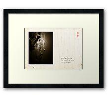 Scent Of Pine Framed Print