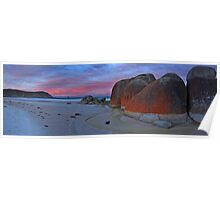 Squeaky beach dawn - Wilsons Prom Poster