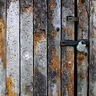 Tithe Barn Door at Stanway by John Bromley